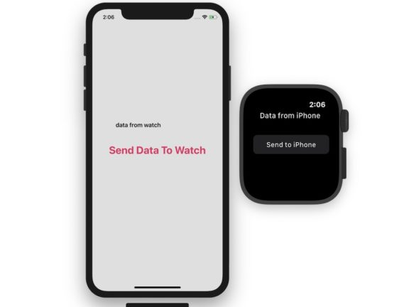 Send data from iPhone to Apple Watch and Apple watch to iPhone